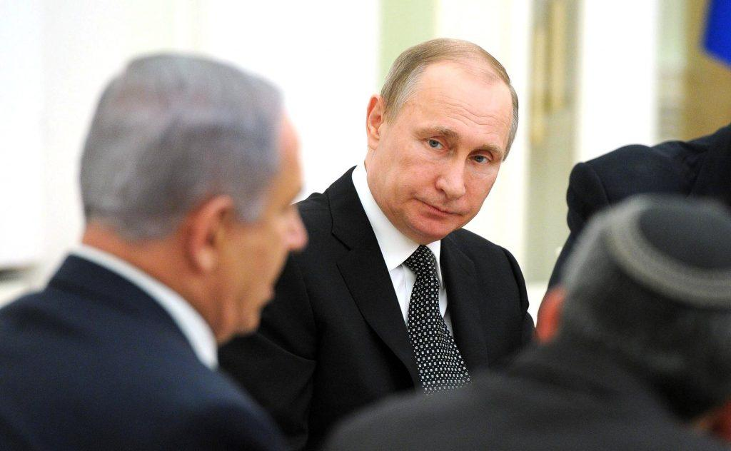 "Netanyahu to Putin: ""The American peace plan is a unique opportunity"""