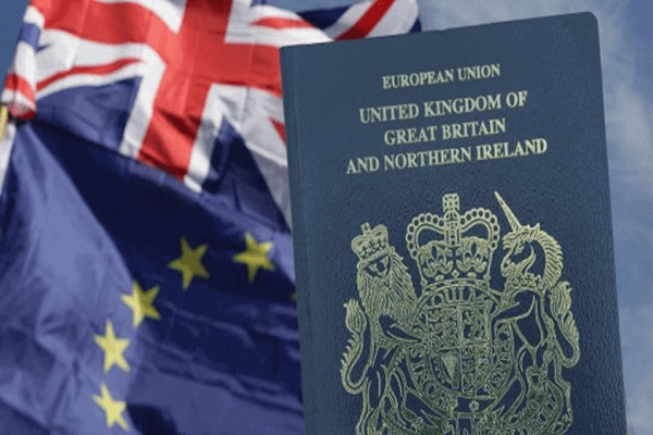 The UK - Blue passport will be issued from next month to mark Brexit
