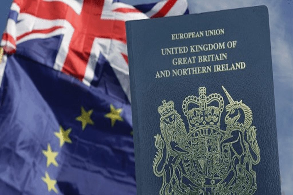 The UK – Blue passport will be issued from next month to mark Brexit