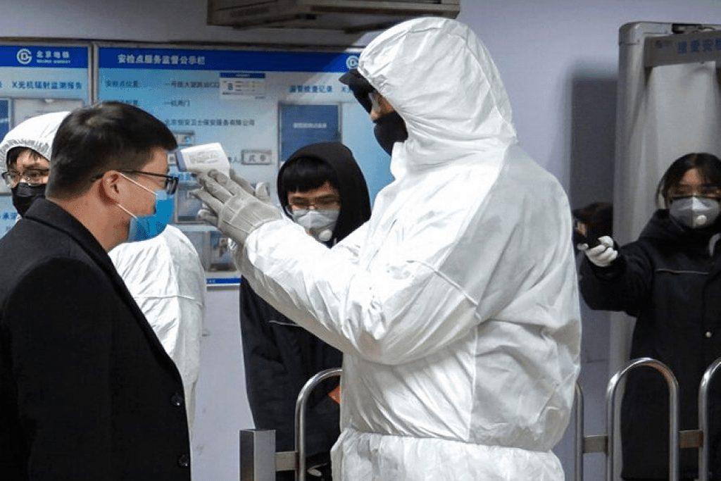 Outside China, the world fights the novel coronavirus infection pandemic