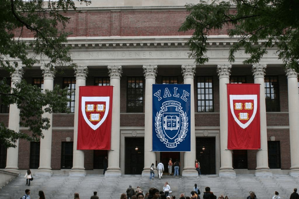 Yale And Harvard Caught In Bribery Act