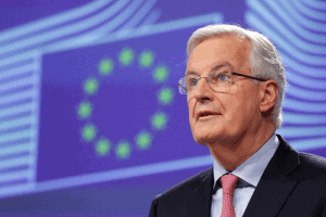 """Michel Barnier, stated that the coalition's relationship with the North American nation was a """"different ball game."""""""