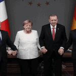 Macron, Merkel and Erdogan held phone talks on Syria