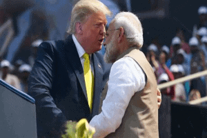 'America Loves India' says Trump on his first visit to India