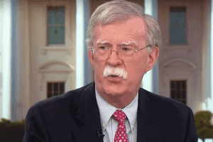 National Security John Bolton criticized the Donald Trump administration foreign policy