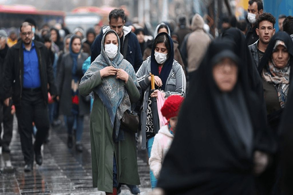 Explosion of coronavirus has seriously affected people's routine life in the central of Iran