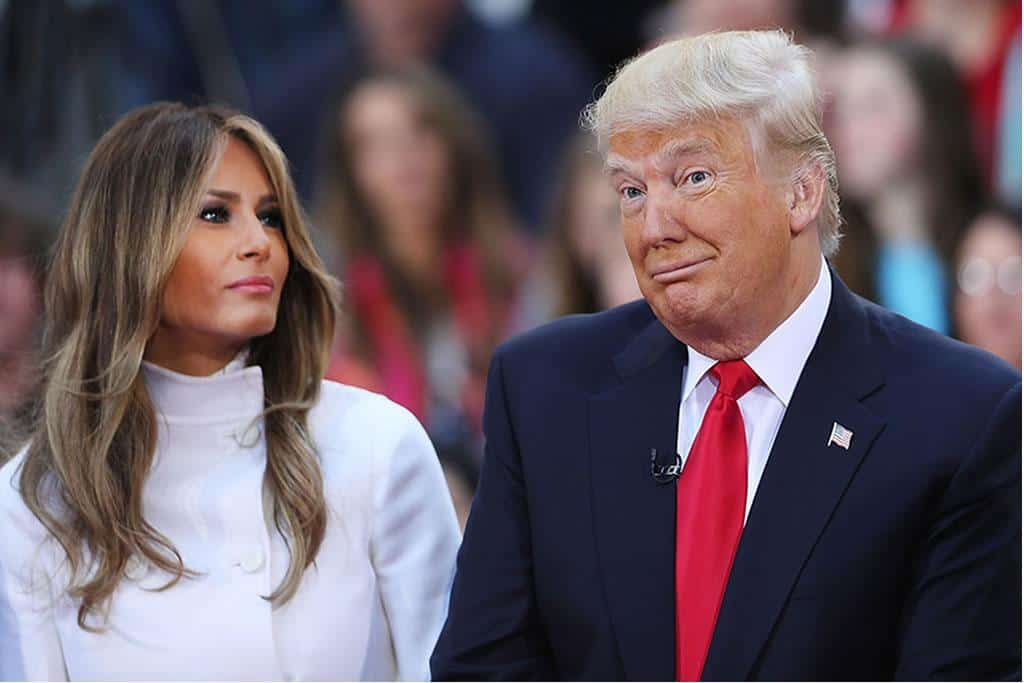 Trump affirms that the First Lady Melania Trump is tested negative for Covid-19