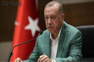 Turkey President Erdogan held a video conference among EU Leaders and British discussing about Syria