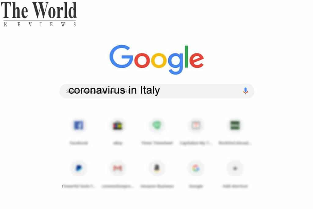 How Coronavirus is influencing the Italian researches on Google