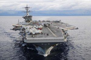 American warship crosses the Taiwan Strait amid tensions with China