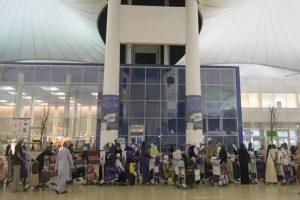 Pakistanis got repatriated in UAE airport