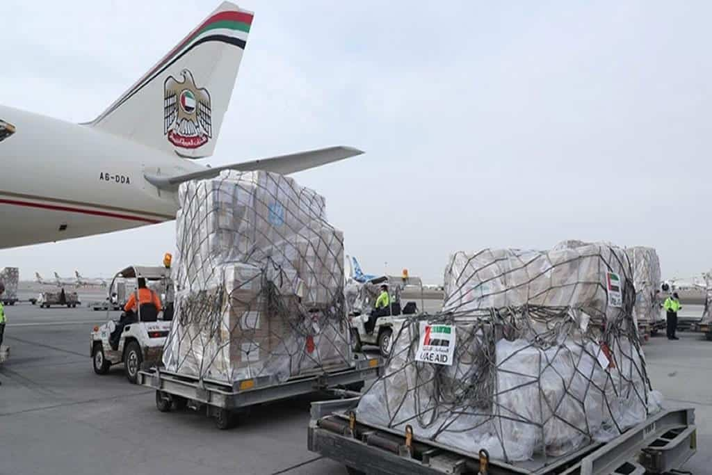 UAE sends aid aircraft to Ethiopia to help combat the global pandemic