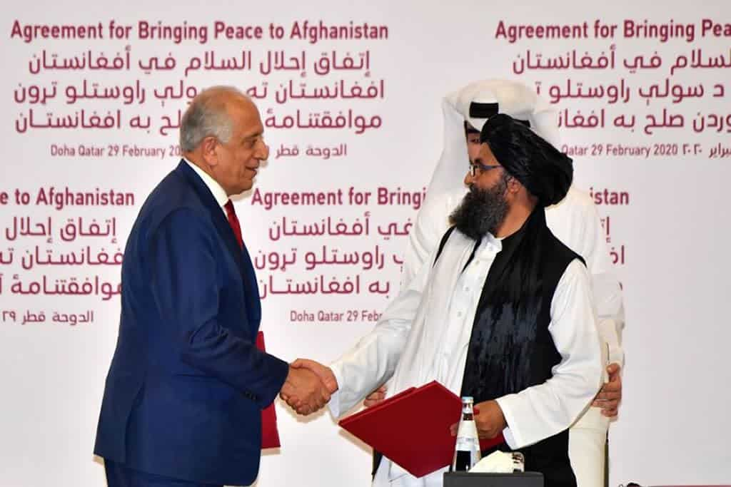 US -Taliban: Resume Peace Agreement Negotiations