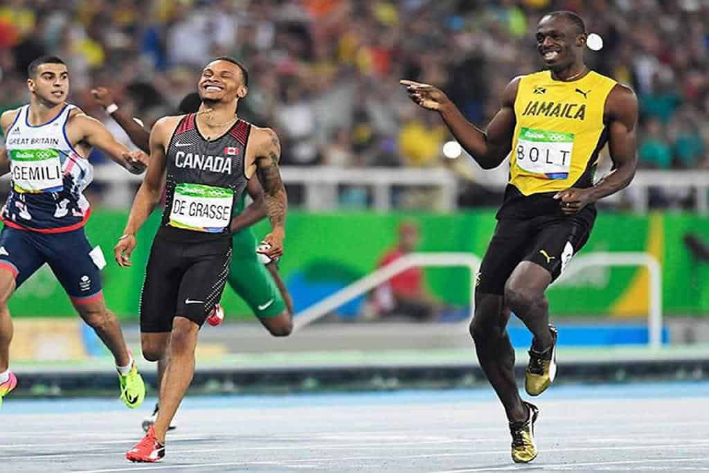 Usain Bolt's 'social distancing' photo of 2008 Olympics goes viral on social media
