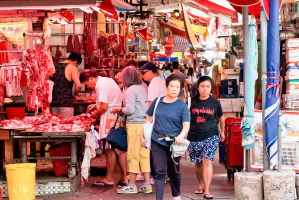 China's wet market has been opened in many parts of the country