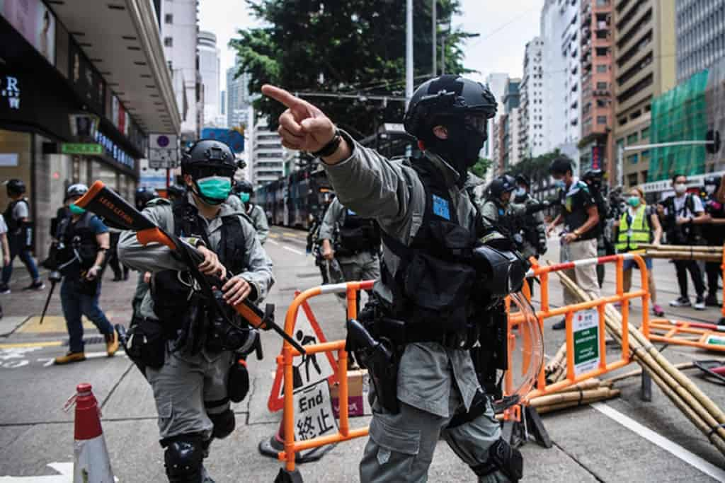 China approved Hong Kong security plan, 240 arrests among protesters