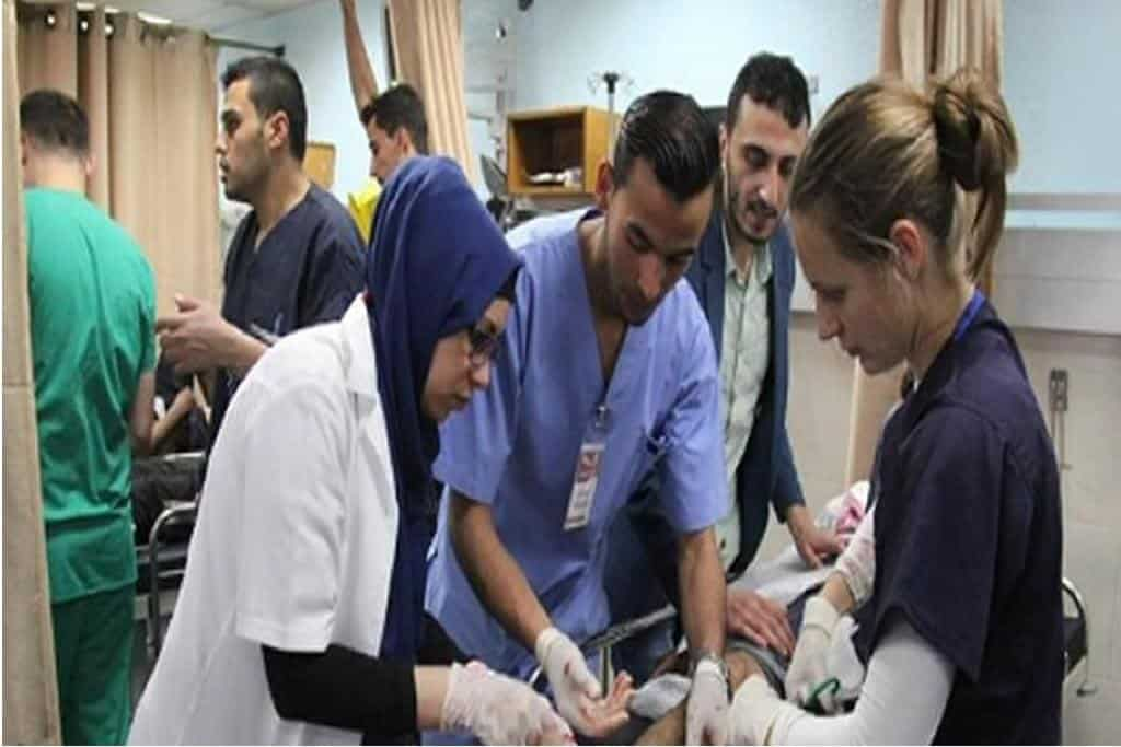 Gaza doctors trained by Israeli teams to combat coronavirus