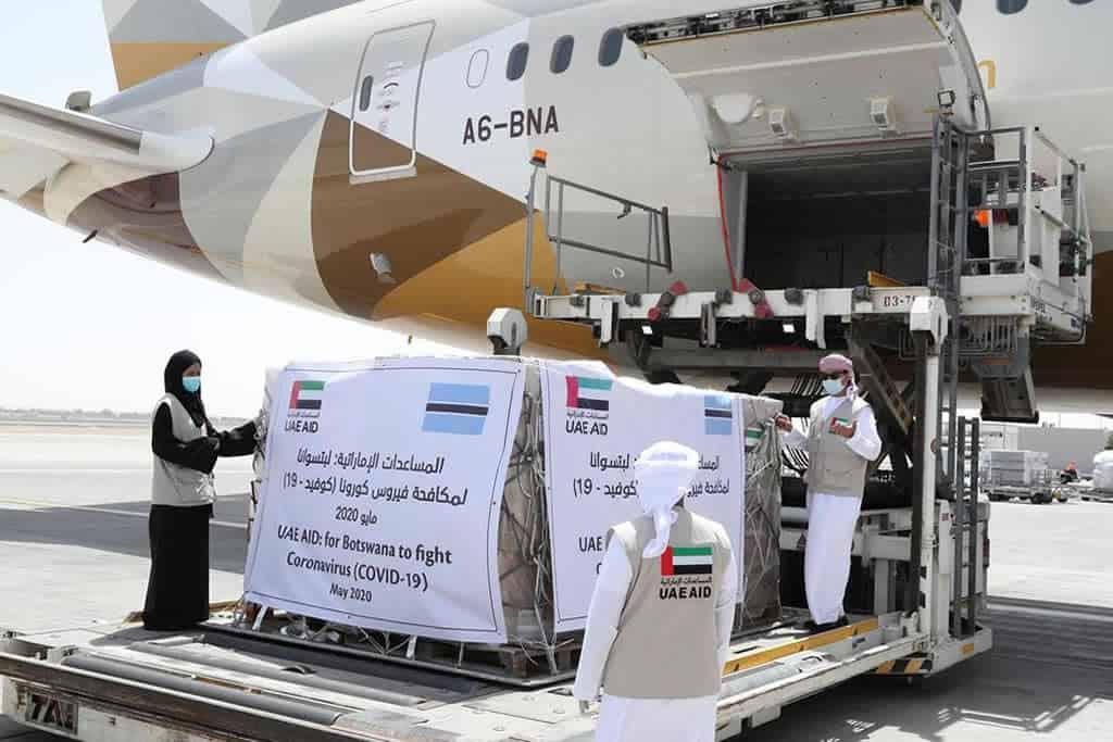 COVID-19: UAE sends medical aid to Botswana