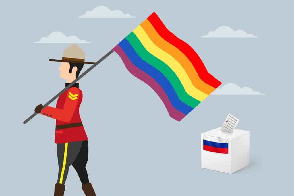 Russia Lashes Back At Canada For Speaking Out For Equal Rights Of The LGBTQI Community