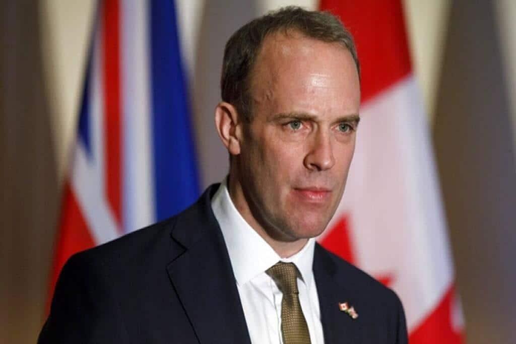 """Hong Kong Security Law: Britain asks China to """"step back"""""""