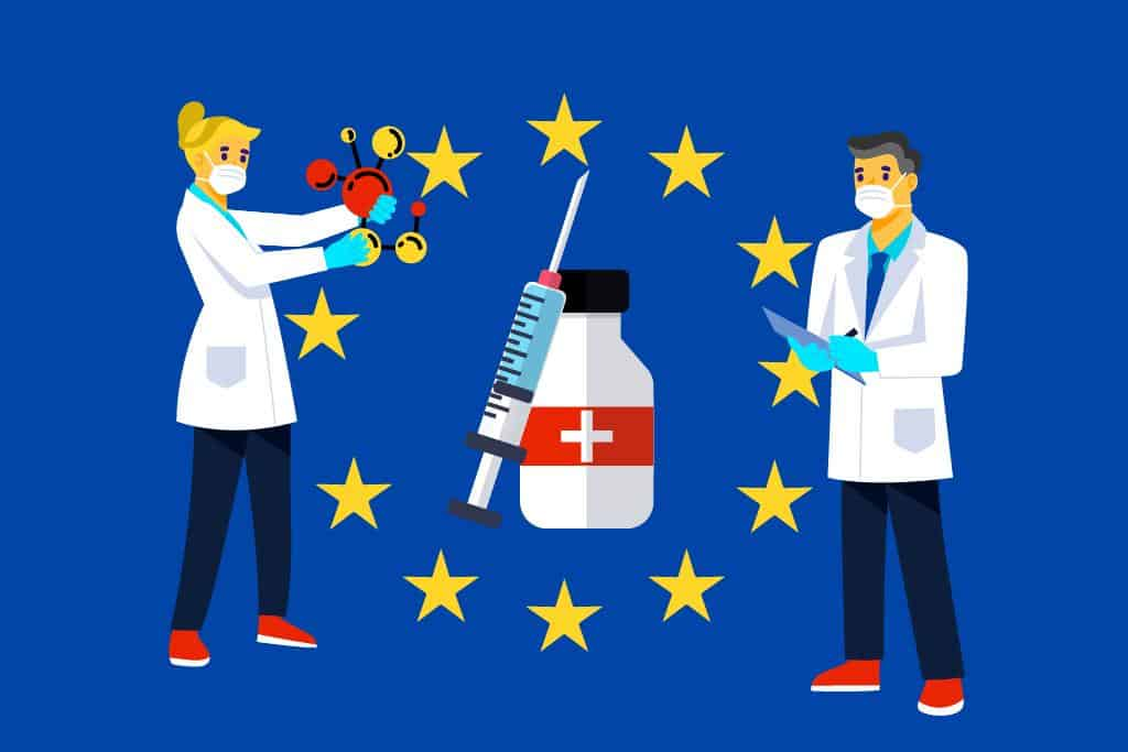 Italy, France, Germany, and the Netherlands joined forces for a COVID-19 vaccine