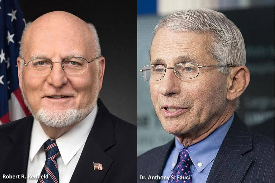 Fauci Redfield - Fauci and Redfield testify before House Committee on Trump's response to COVID-19