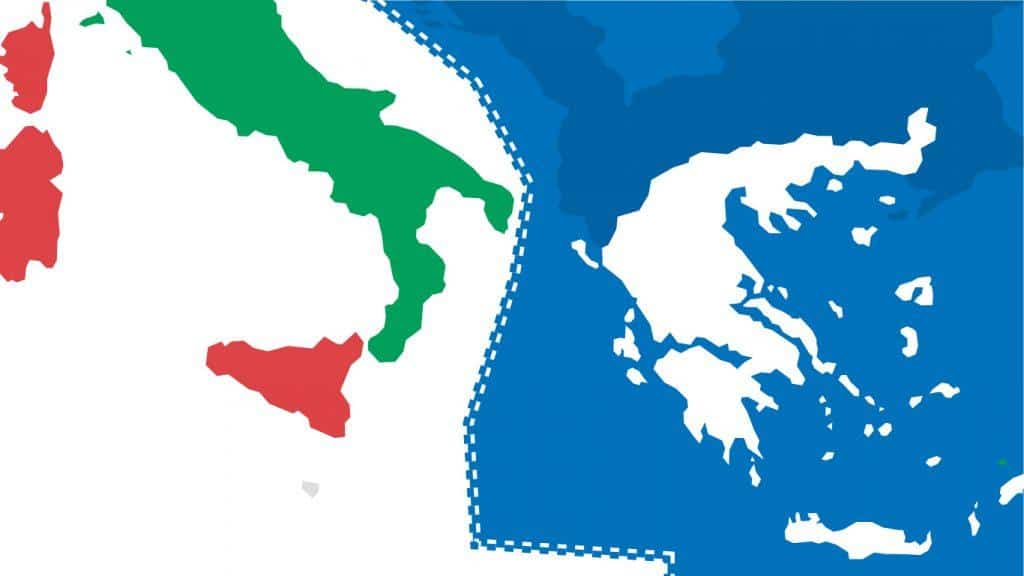 New agreement between Italy and Greece: gas, fishery, and geopolitics