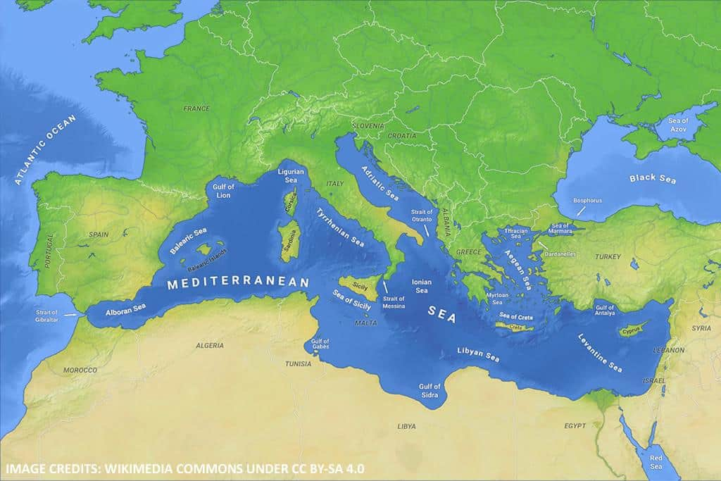 Mediterranean Sea - Mediterranean: a geopolitically too crowded sea