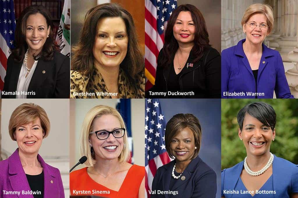 Top Contenders For Biden's Vice Presidential Runner