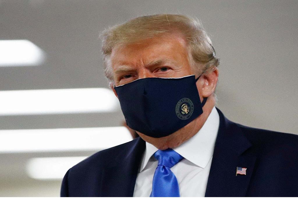 """Trump Embraces Face Masks: """"It's patriotic!"""""""