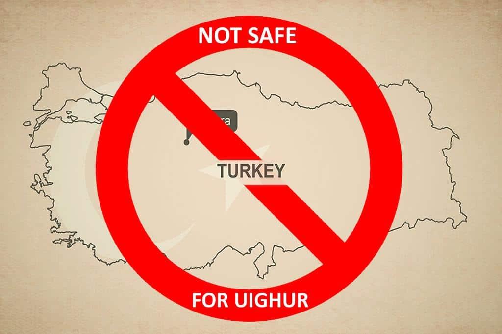 Turkey no longer a safe haven for Uighurs