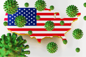 US reports new record one-day coronavirus cases