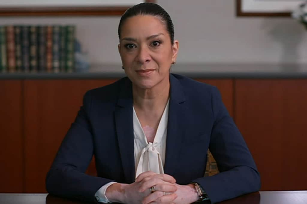 United State, Judge Esther Salas speaks two weeks after the killing of her son