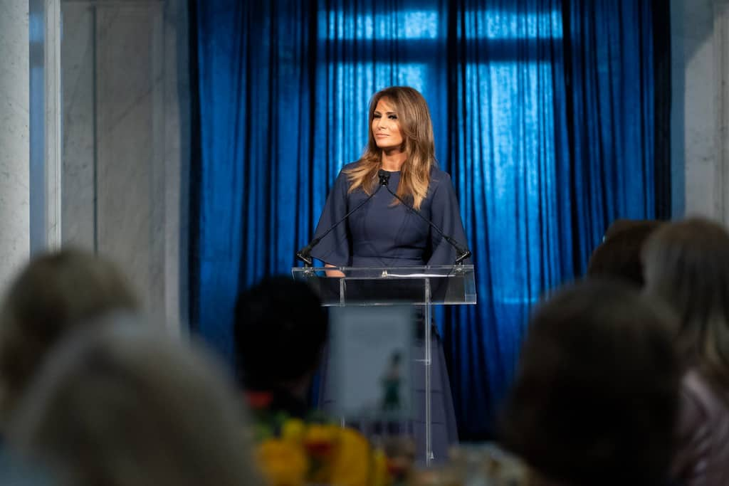 Melania's speech saving Trump, from COVID-19 to racism