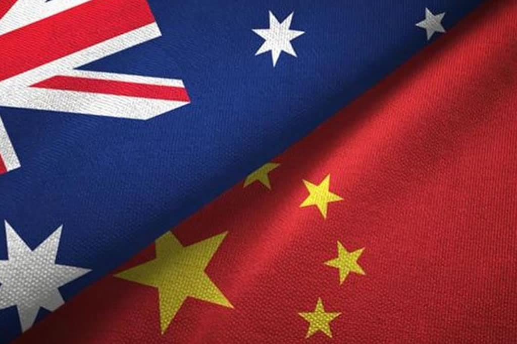 Why is China picking an Australia Row?