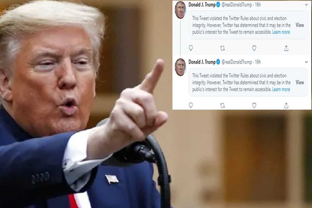 US, Twitter removes Trump post reducing Covid-19 deaths. On the Russian darknet data of millions of US voters