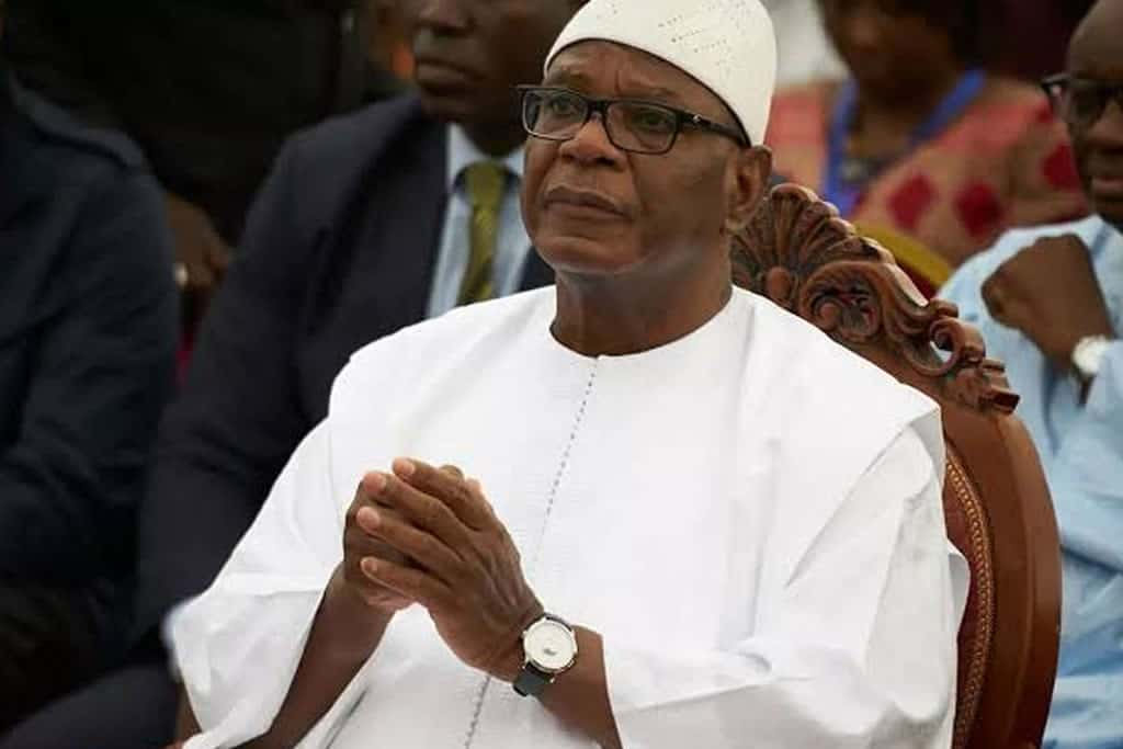 Mali's ousted leader Keita flies to UAE after suffering a stroke