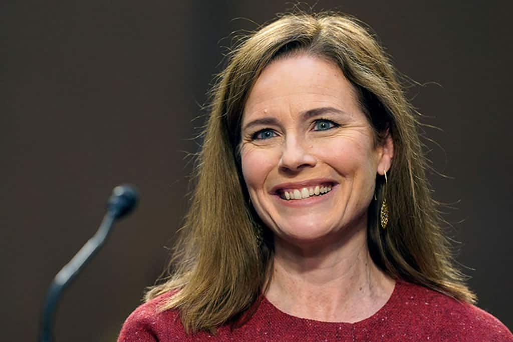 Amy Coney Barrett appointed to the Supreme Court