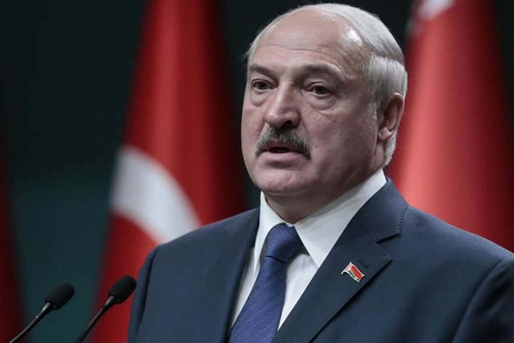 EU agrees to impose sanctions on Belarus' Lukashenko