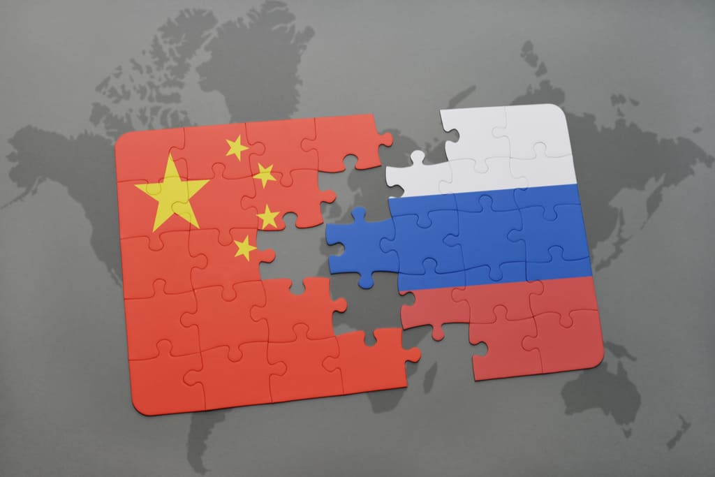 Europe under siege by China and Russia