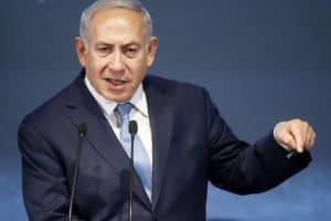 Netanyahu claims Hezbollah hides its arms depots in Beirut's residential areas
