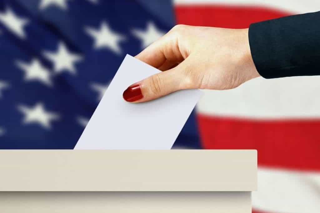 American polls two weeks before the vote