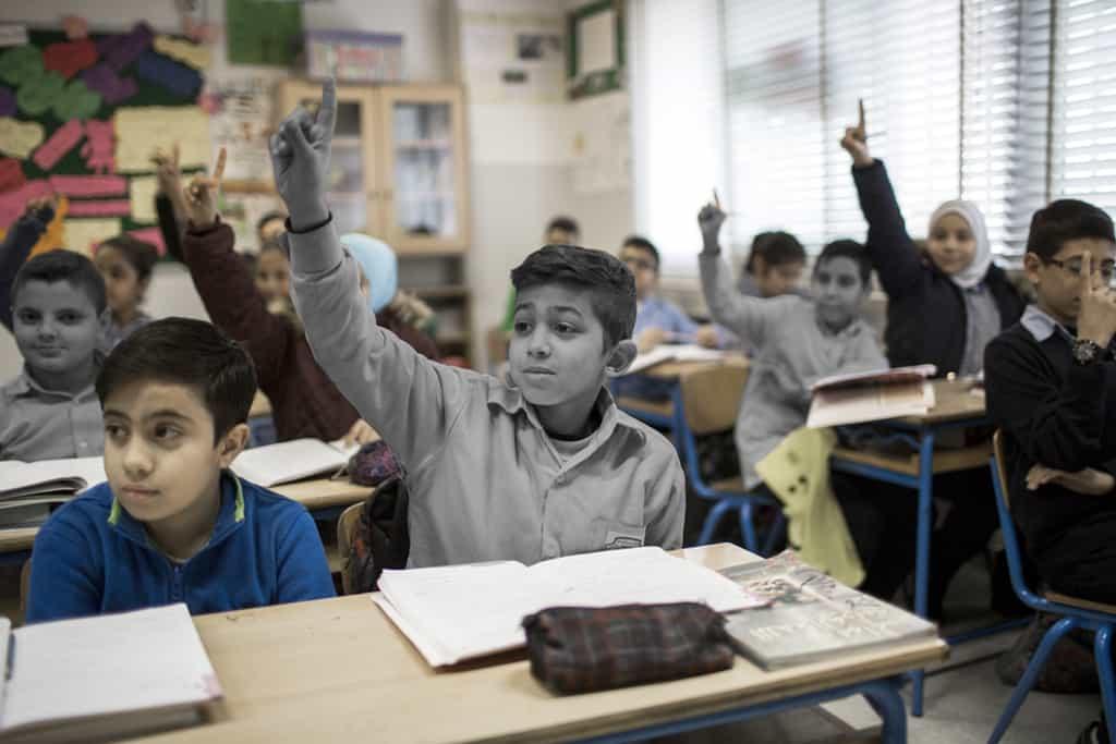 Displaced children in MENA bear brunt of COVID-19 crisis