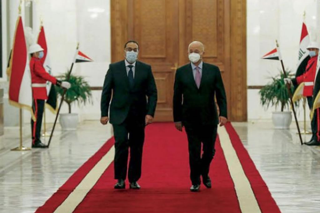 Iraq and Egypt sign 15 major agreements to strengthen their bilateral relations