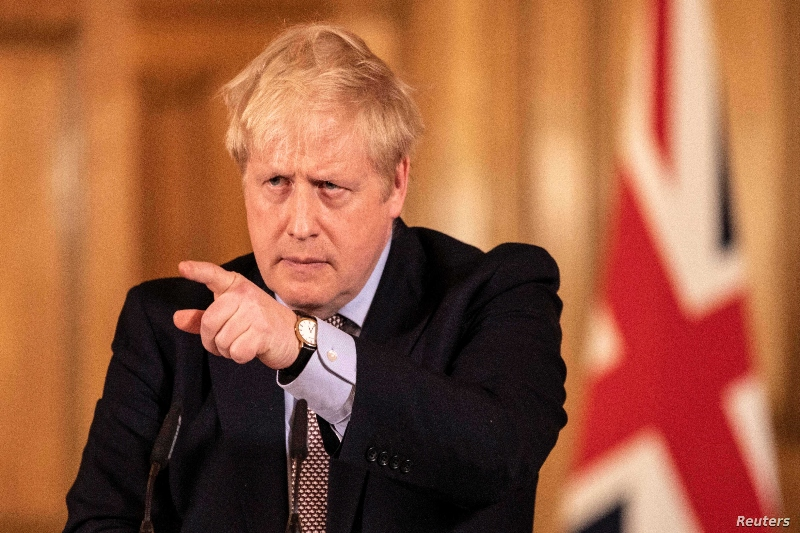 British PM Johnson under fire over his devolution remarks