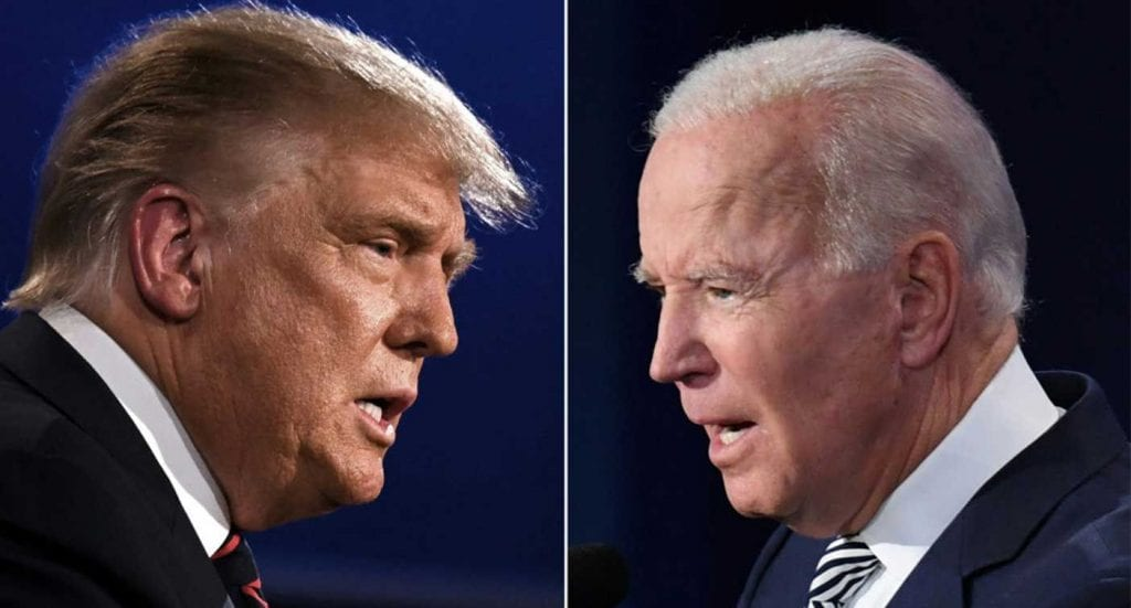 Tight run between Trump and Biden keeps US on the edge
