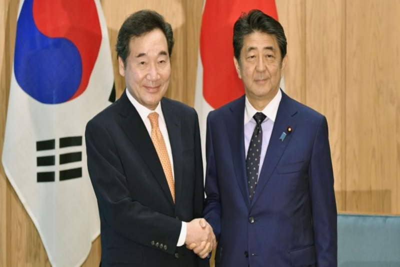 Japan and South Korea work towards mending bilateral ties
