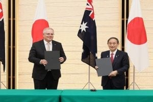 China criticizes the historic Australia- Japan defense deal