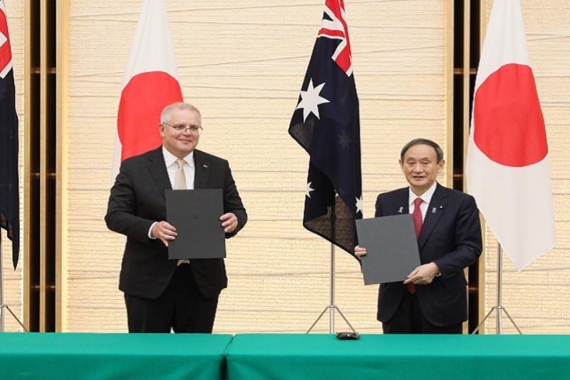 China criticizes the historic Australia- Japan defense deal