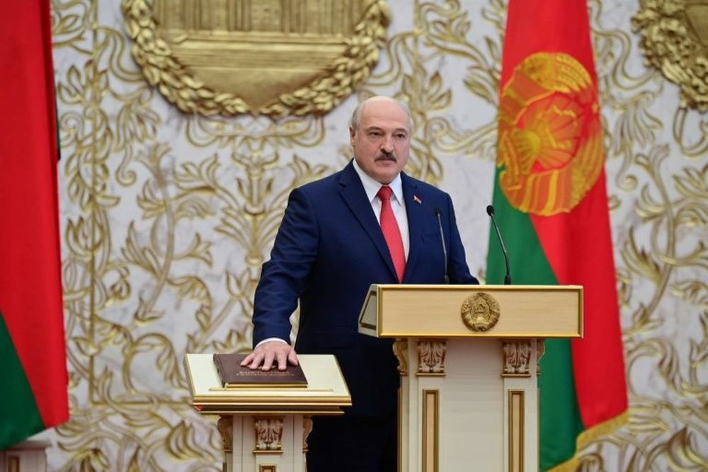 EU imposes sanctions on Belarus President and 14 others for abuse of power